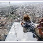 balkon103 3 150x150 Стеклянный балкон на 103 м этаже в Чикаго, США