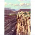 canyon 1 150x150 Стеклянная арка, висящая над Большим каньоном, США