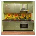 Кухонные фартуки в интерьере кухни