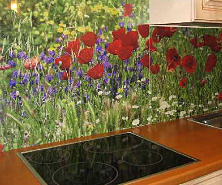 kuxonnye fartuki v interere kuxni 1 Кухонные фартуки в интерьере кухни