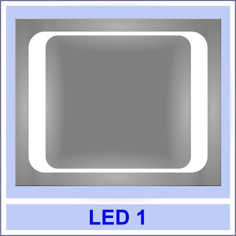 led 1 Дзеркала з LED підсвіткою