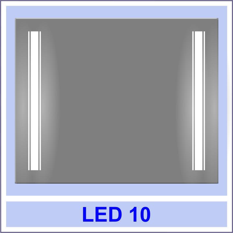 led 10 Дзеркала з LED підсвіткою