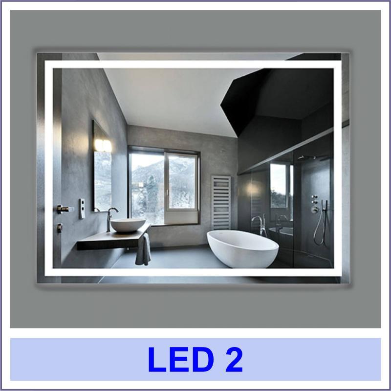 led 2 2 Дзеркала з LED підсвіткою