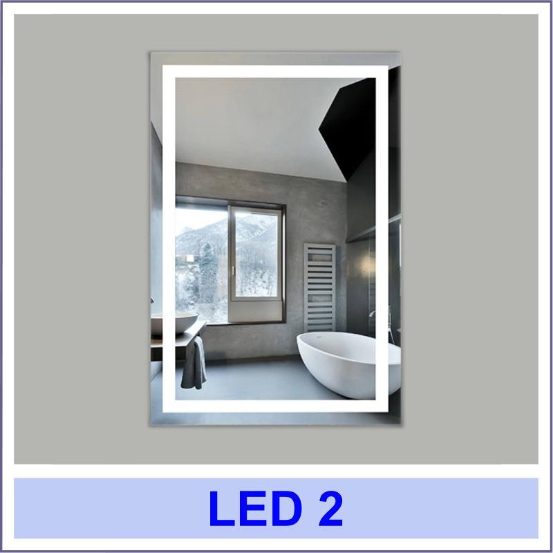 led 2 3 Дзеркала з LED підсвіткою