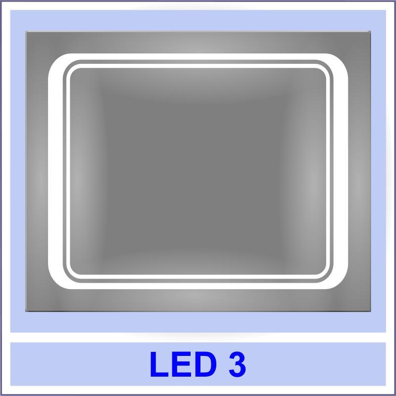 led 3 Дзеркала з LED підсвіткою