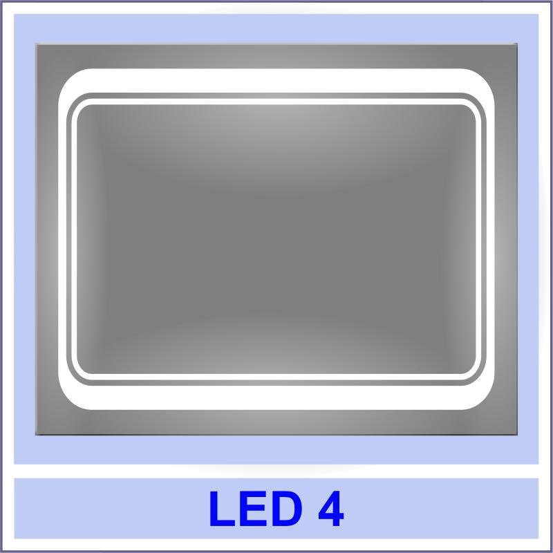 led 4 Дзеркала з LED підсвіткою