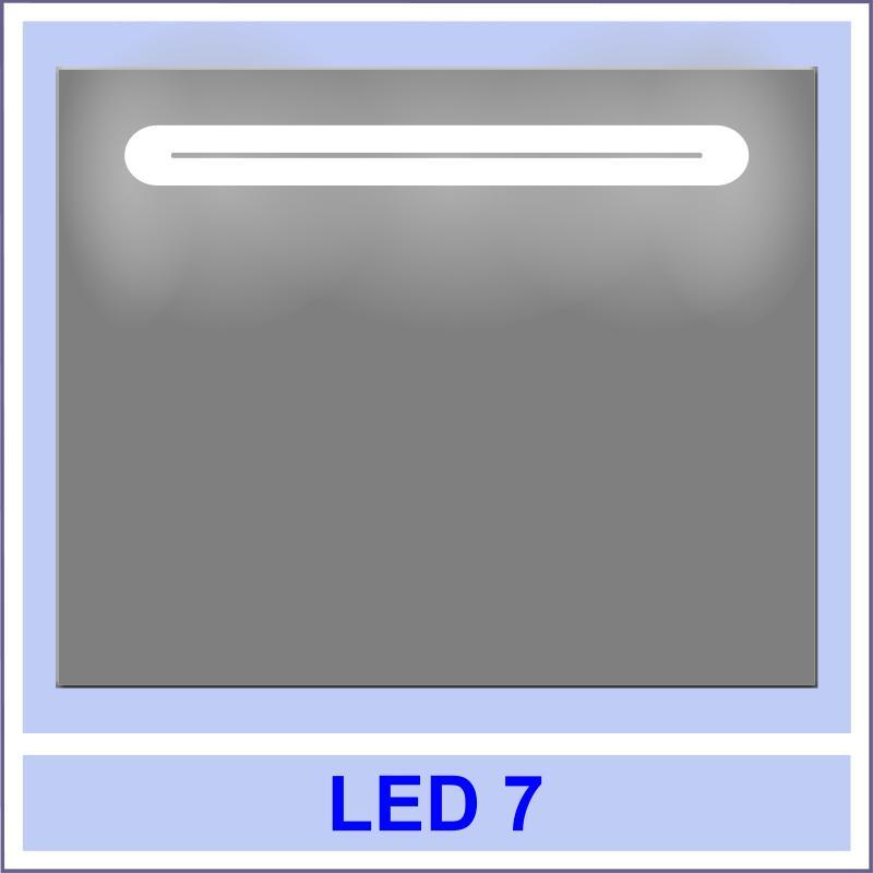 led 7 Дзеркала з LED підсвіткою