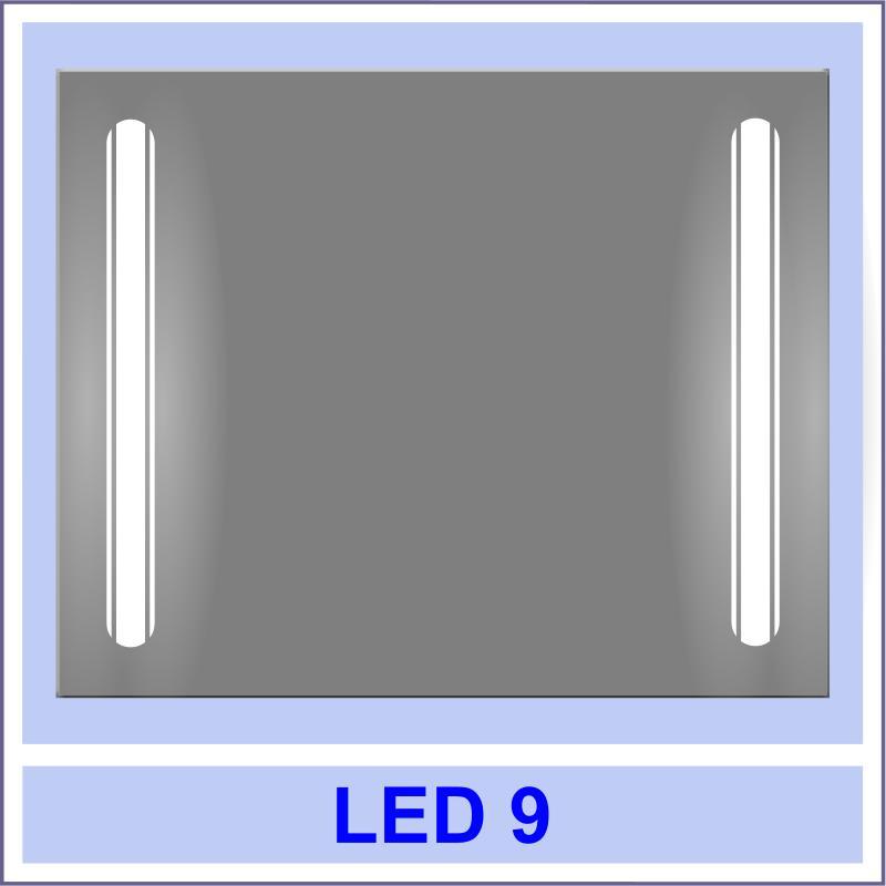 led 9 Дзеркала з LED підсвіткою